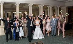 wedding photography Toronto, Love story, special event, bride, groom, wedding group shot