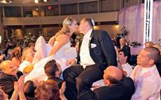 wedding photography Toronto, Love story, special event, bride, groom, jewish wedding, first kiss